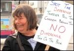 Sue Atkins, Southampton TUSC candidate, photo Southampton Socialist Party