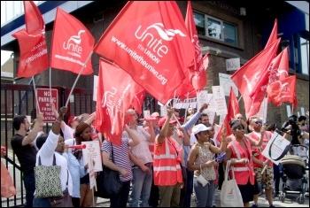 Unite the Union, photo Naomi Byron