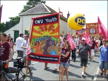 Tolpuddle march July 2013, photo Matt Carey