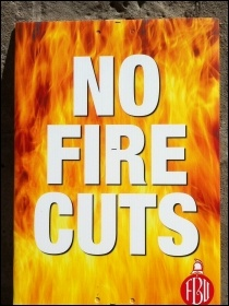 Stop the fire cuts!