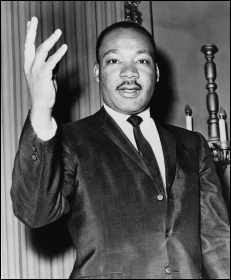 Martin Luther King Jr, photo Dick DeMarsico, World Telegram staff photographer