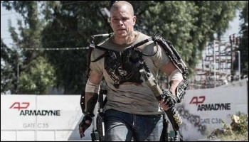 Elysium - an 'allegory for class warfare',  Co-production of Media Rights Capital and TriStar Pictures