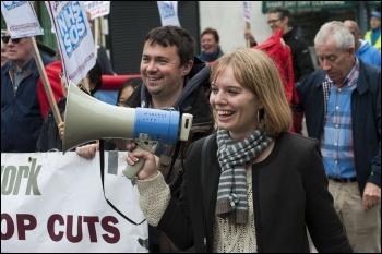 Demonstration against NHS cuts at Whipps Cross hospital, East London 21 September 2013, photo Paul Mattsson