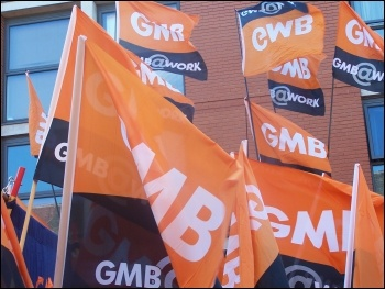 GMB members want action, photo Claire Job