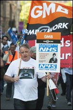 TUC demo in Manchester: 50,000 march against Tories demanding action on NHS, photo by Paul Mattsson