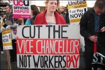 HE strikers' rally in Newcastle, 31.10.13 , photo Elaine Brunskill