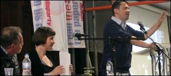Rob Williams speaking at Socialism 2013, photo Senan