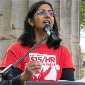 Kshama Sawant, photo Socialist Alternative