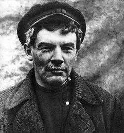 Lenin in disguise in 1917