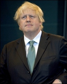 Tory London Mayor Boris Johnson, photo Paul Mattsson