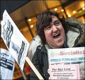 Don't let Boris throw jobs down the tube!, photo Paul Mattsson
