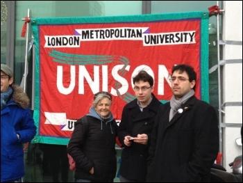 London Met university, 6th Feb 2014, photo by J Beishon