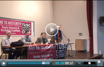 TUSC conference, photo Socialist Party