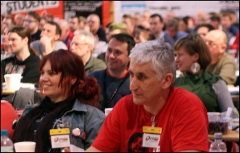 Delegates at the Socialist Party 2014 national congress, photo Senan