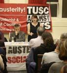 Ellen White speaking, Coventry Vote Socialist 2014 meeting, 26.3.14