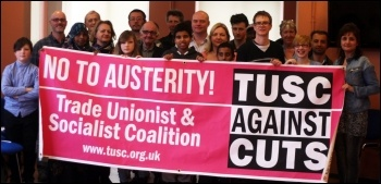 Newham TUSC candidates and supporters