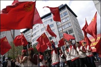 May Day celebrations, photo by Paul Mattsson