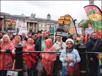 Trafalgar Square, 1.5.14, photo by J Beishon
