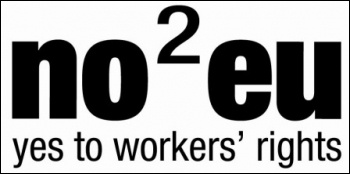 The Socialist Party supports No2EU - Yes To Workers' Rights in the 2014 European elections