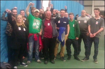 TUSC at the 2014 Sunderland local election count