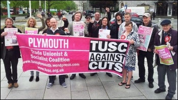 Plymouth TUSC candidates and supporters