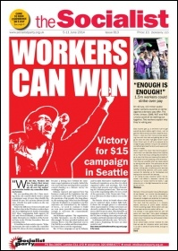 The Socialist issue 813