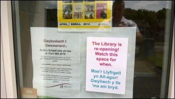 Rhydyfelin library to re-open, photo by D Reid
