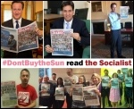 Miliband promoted the Sun; We promote the Socialist
