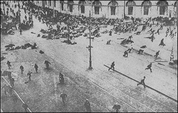 The July Uprising in Petrograd was premature