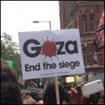 London anti-war demo, 11.7.14, photo JB