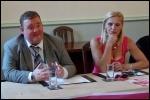 Leicester councillors Wayne Naylor and Barbara Potter, photo Leicester TUSC
