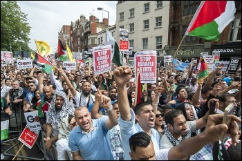 London Gaza demo 19 July 2014, photo Paul Mattsson