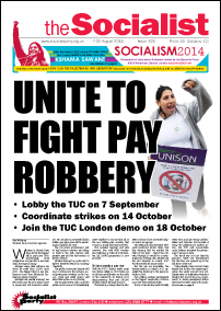 The Socialist issue 821