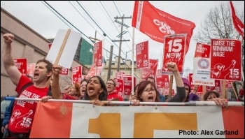 Socialists have led a successful fight to increase the minimum wage in Seattle, photo Alex Garland