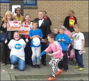 Scotland Referendum, photo SP Scotland