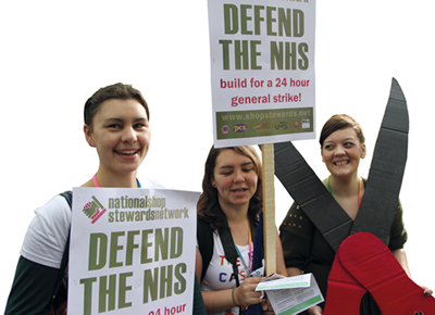 Strike to save our NHS!