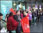 Bristol, NHS strike, 13.10.14, photo Matt Carey