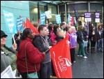 Bristol, NHS strike, 13.10.14, photo Matt Carey