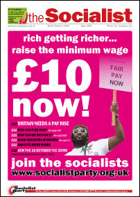 The Socialist issue 829