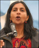 Kshama Sawant, photo Kevin Allen