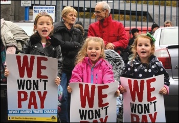 Ireland: We won't pay the water tax!