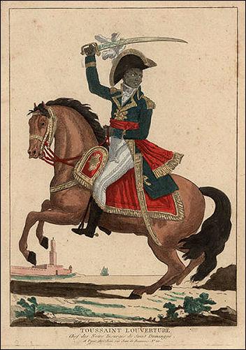 Toussaint L'Ouverture led a successful uprising of black slaves