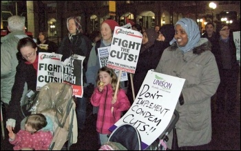 Fighting the cuts in Tower Hamlets