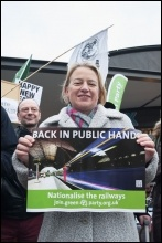 Green Party leader Natalie Bennett, photo Paul Mattsson