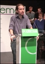 Podemos leader Pablo Iglesias, photo Creative Commons (http://creativecommons.org/licenses/by/3.0/deed.en)