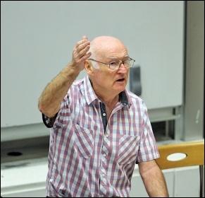 Peter Taaffe, photo Senan