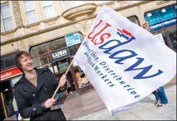Shop workers' union Usdaw campaigns against violence at work
