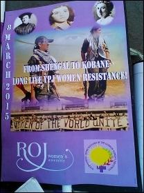 Million Women Rise demo, 7.3.15, photo by E Donne