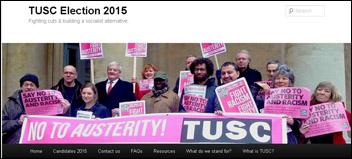 London TUSC website