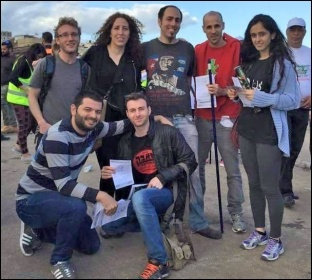 Socialist Struggle (CWI Israel/Palestine) members on the 39th Palestinian Land Day